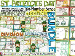 ST PATRICK'S DAY: MATH SCOOT BUNDLE