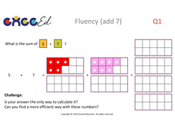 Fluency: Bridging with Numicon (Full Pack)