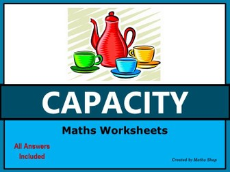 Capacity – Measures - Volume of Liquids