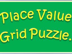 Place Value Grid Puzzle