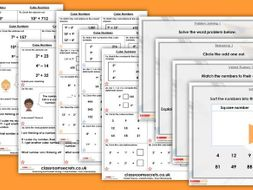 Year 5 Cube Numbers Autumn Block 4 Step 6 Lesson Pack