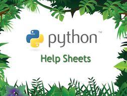 Python Programming Help Sheets