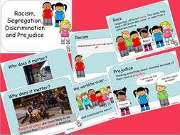 Racism, Discrimination, Prejudice and Segregation PPT