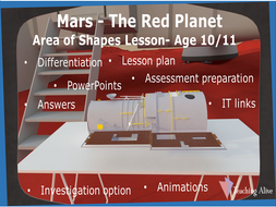 Age 10/11 Area of Shapes Lesson