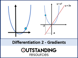 Differentiation 2 - Gradients, Gradient Functions and Gradient Problems