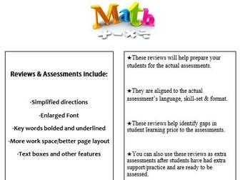 Grade 2, Math Module 1 REVIEW & ASSESSMENT w/Ans keys (printables & Smart Board)