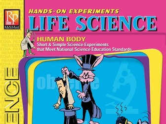 Life Science - Human Body: 15 Hands-On Science Experiments