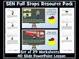 Full Stops and Capital Letters: SEN Resource