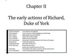 Wars of the Roses: Chapter 2 revision