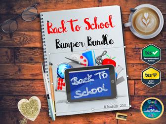 Back to School: Back To School Bundle!