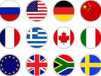 Nationalitäten Deutsch Lesung - Nationalities and Languages German Reading