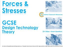 GCSE DT Theory (New Spec) – Forces & Stresses on Materials