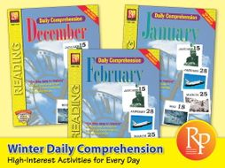 Winter Daily Comprehension {Bundle}