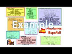 Spanish speaking mat