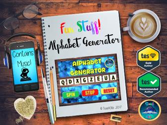 Transition:  Alphabet Generator