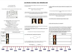 Lucy Worsely - Six Wives - Ep.2 - Beheaded, Died - Supporting Worksheet