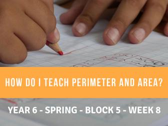 Perimeter and Area Year 6 Block 5 Week 8
