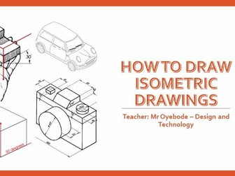 How to draw Isometric drawings