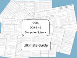 Ultimate GCSE Computer Science OCR 9 - 1 revision guide