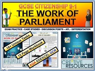 Work of Parliament