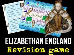 Elizabethan England Revision