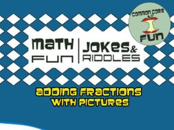 Adding Fractions with Pictures (and a Common Denominator)