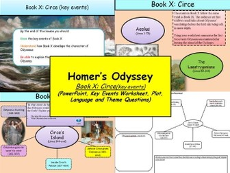 Homer's Odyssey – Book X: Circe (key events)