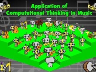Computational Thinking in Music