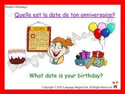 French Birthdays