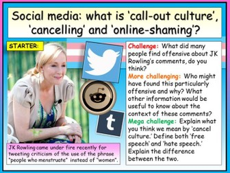 Social Media - Online Shaming
