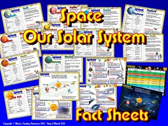 Our Solar System / Planets Fact Sheets