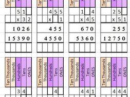 Multiplication worksheet generator | Teaching Resources