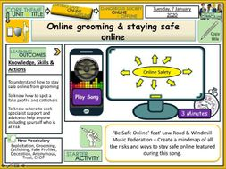 Online grooming & staying safe online