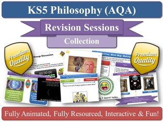 AQA Philosophy AS Revision Sessions (x12) Epistemology & Moral Philosophy ( KS5 AQA Philosophy )