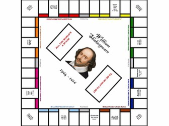 """""""Shakeopoly"""" - teach Shakespeare context easily with this board game"""