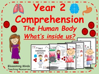 KS1 SATs Reading - The Human Body Comprehension