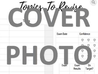 Exam Topics To Revise Planner!