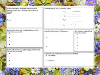 Homeostasis and response revision mat