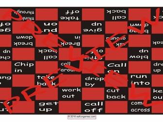 Phrasal Verbs #2 Checker Board Game