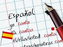 Spanish Grammar Bundle ~ Readings and Worksheets
