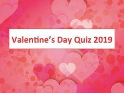 Valentine's Day Quiz 2019