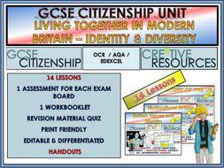GCSE CITIZENSHIP UNIT : Living in Modern Britain