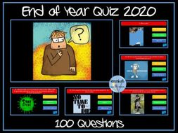 End of Year Quiz 2020