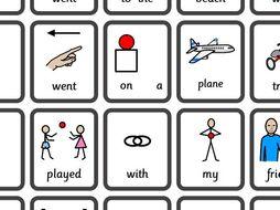 WIDGIT symbolised back to school literacy tasks.