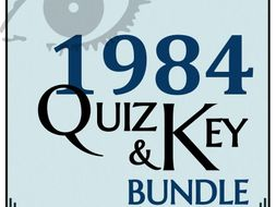 1984 by George Orwell - Quiz Bundle