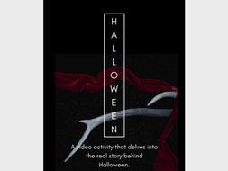 History of Halloween Video Activity