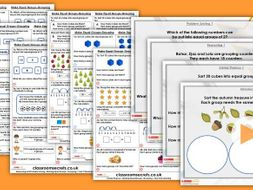 Year 2 Make Equal Groups Grouping Spring Block 1 Step 2 Maths Lesson Pack