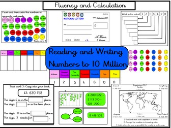 Year 6 Place Value Pack - Resources to help cover Week 1 and 2 Planning for WRMH (White Rose Maths)