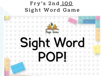 Fry's 2nd 100 Sight Words PPT Game [1]