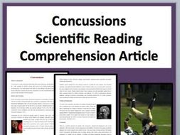 Concussions Comprehension Reading